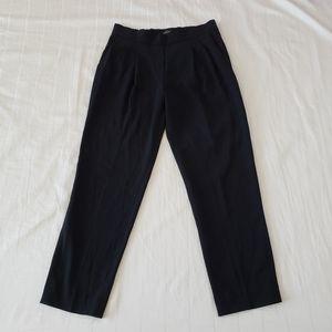 Women black babaton pants slacks with elastic band